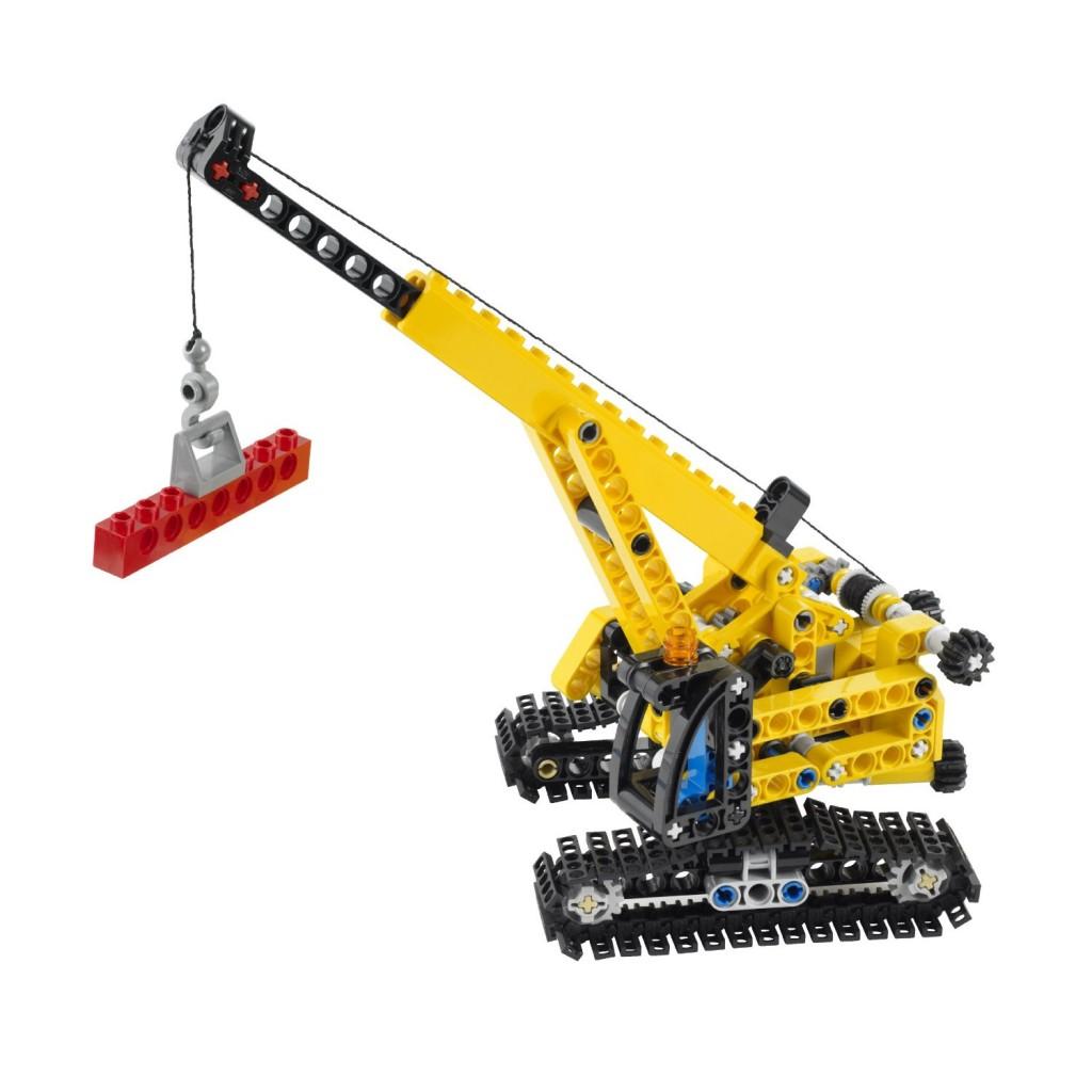 Lego Technic Tracked Crane 9391
