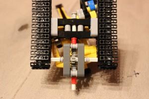 9391 Tracked Crane Trailer Modification - Bottom