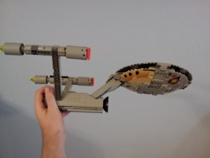 LEGO Star Trek Enterprise - side bottom