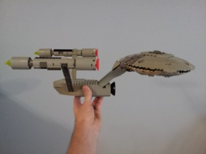 LEGO Star Trek Enterprise - side top