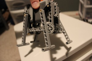 Basic Four-leg LEGO Walker - back angle