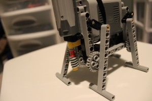 Basic Four-leg LEGO Walker - front angle 2